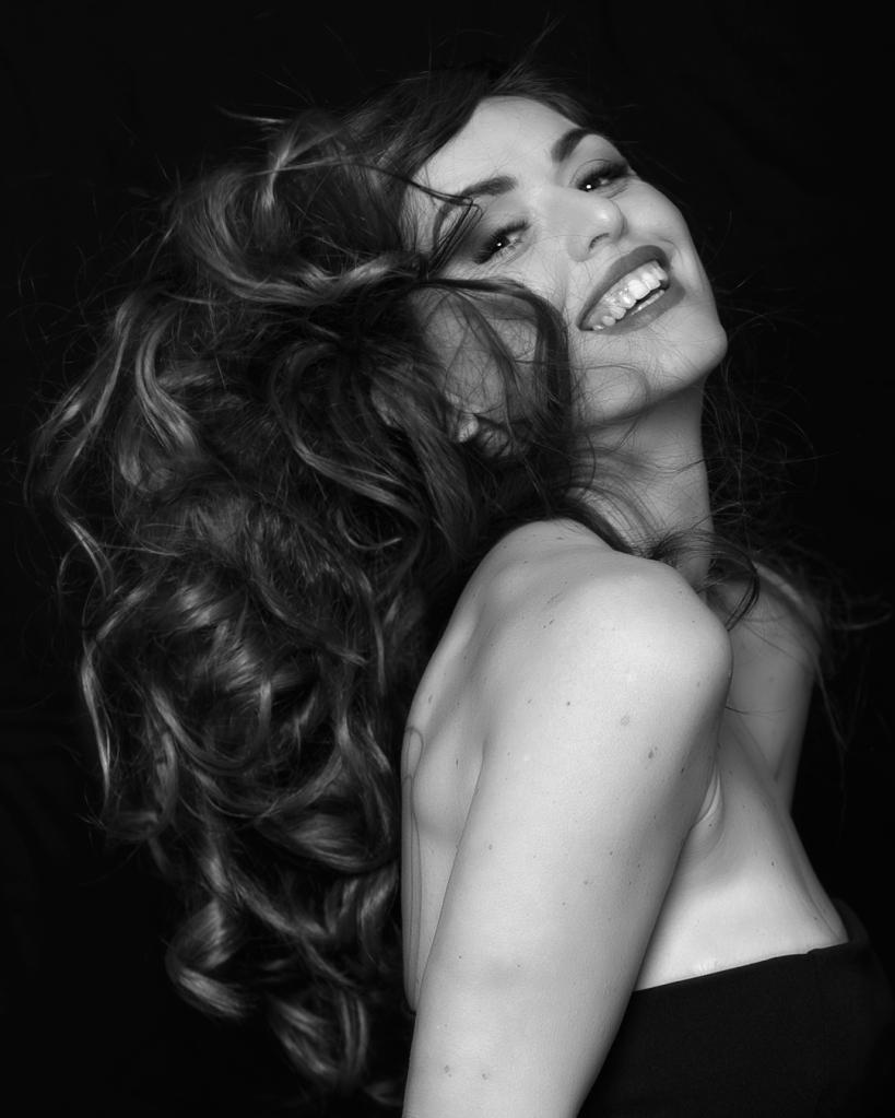 Shooting con Mary Costantini per Ritratti parrucchieri frosinone